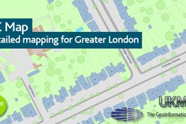 UKMap - Detailed Mapping for Greater London