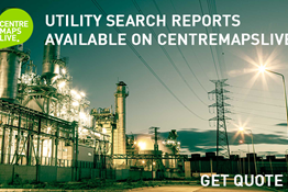 Utility Search Reports From CentremapsLive